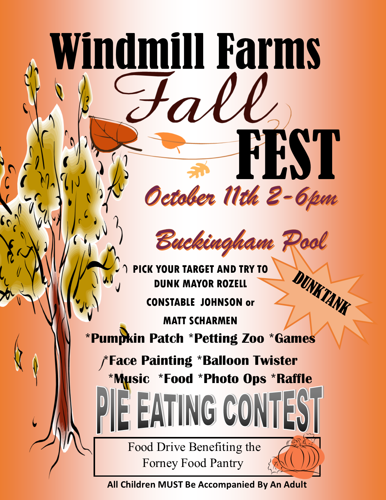 Windmill Farms HOA - 2014 Fall Fest